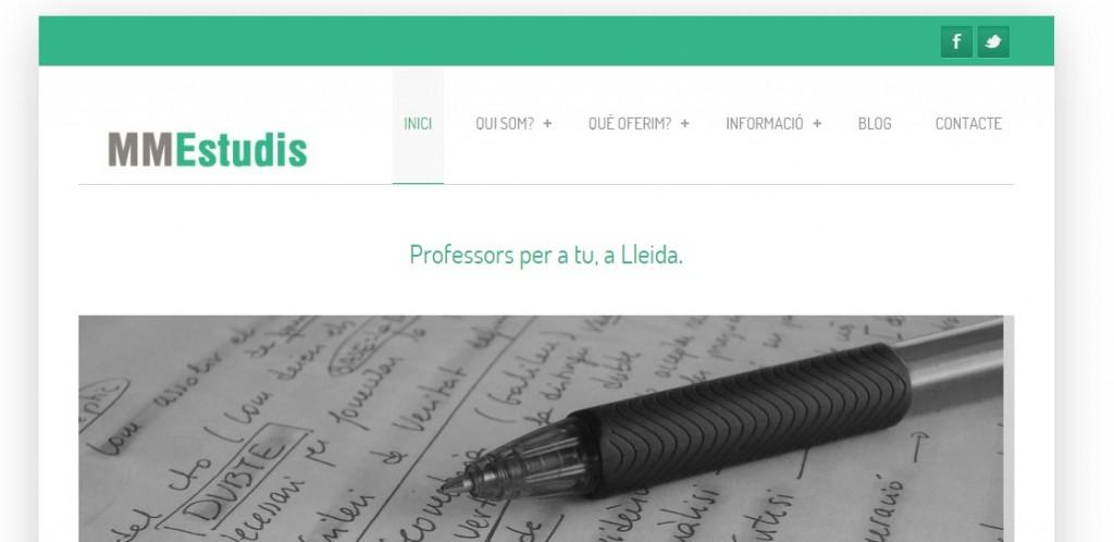 Centro de estudios en WordPress