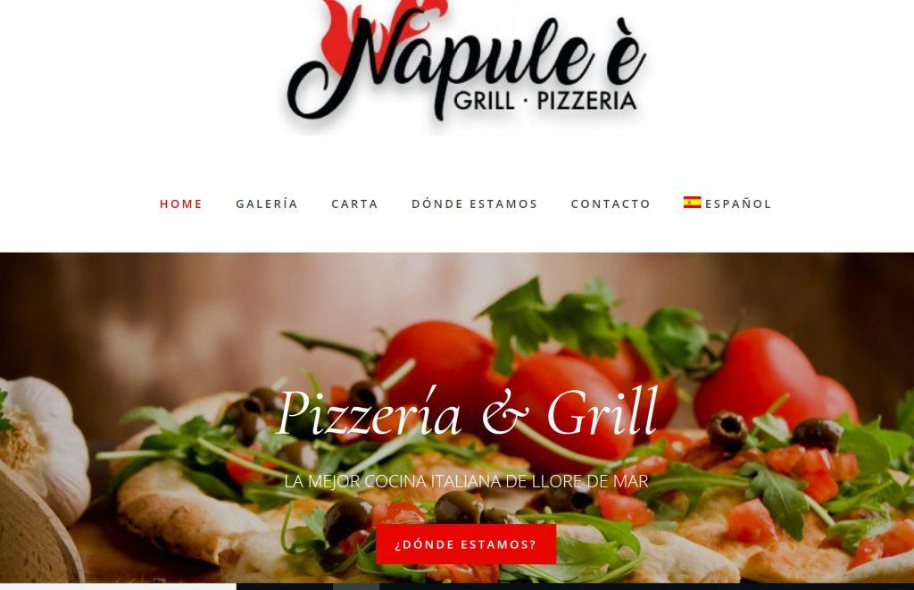 Restaurante Italiano -Napule è Lloret